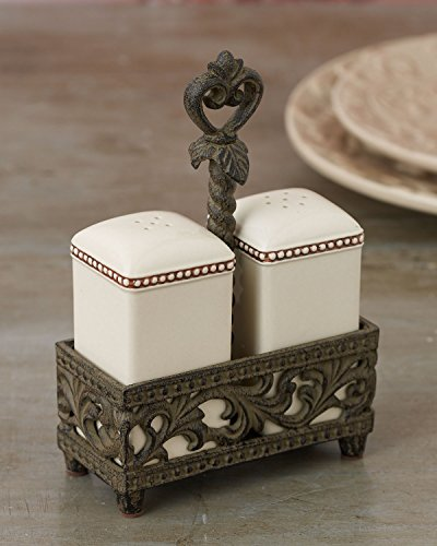 Salt & Pepper Shaker – Cream