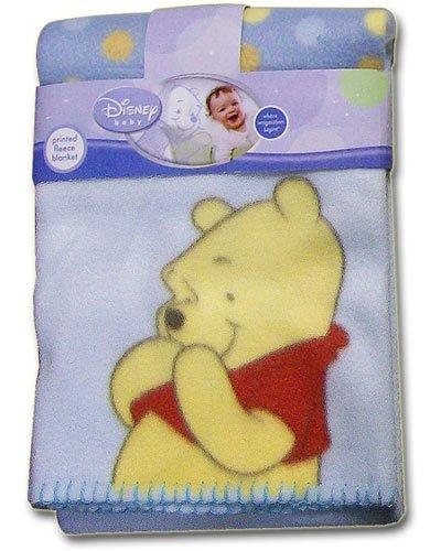 Disney Winnie the Pooh Printed Fleece Blanket - 1