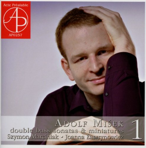Buy Adolf Misek - Double bass sonatas and miniatures Vol.1 From amazon