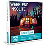 SMARTBOX - Coffret Cadeau - WEEK-END INSOLITE - 755 séjours : cabanes, yourtes, roulottes, tipis, châteaux, maisons d'hôtes