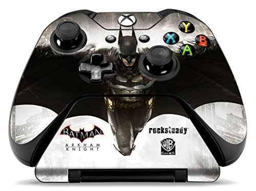 Controller Gear Officially Licensed Xbox One Batman: Arkham Knight Controller & Controller Stand Skin Set by Controller Gear