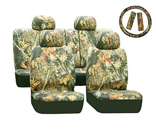 Universal-set-di-coprisedili-per-Auto-con-stampa-a-foglie-con-panno-esclusivo-sedile-colorato-13-pezzi-per-set