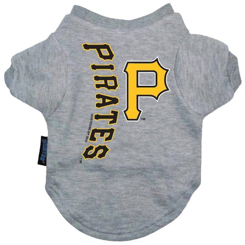 Hunter MFG Pittsburgh Pirates Dog Tee, Large