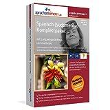 """Spanisch (S�damerika)-Komplettpaket mit Langzeitged�chtnis-Lernmethode von Sprachenlernen24.de. Lernstufen A1 bis C2. Intensivkurs inkl. Grammatik. Software-DVD f�r Windows 8,7,Vista,XP/Linux/Mac OS Xvon """"Sprachenlernen24.de"""""""
