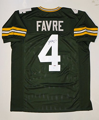 Brett Favre Signed / Autographed Green Pro Style Jersey- PSA/DNA Authenticated