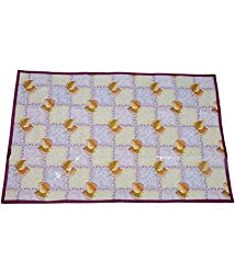 Kuber Industries Bed Server Food Mat Reversible (Color & Print Might Vary According To Availability)