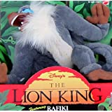 Disney's the Lion King Plush-rafiki 1994 Mattel