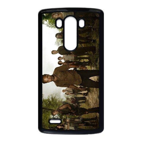 LG G3 Cell Phone Case-black_The-Walking-Dead-04-cast (Lg G3 Phone Case Walking Dead compare prices)