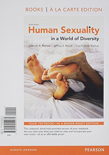 Human Sexuality In A World Of Diversity 8th Edition Pdf