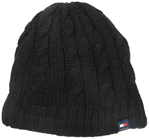 Tommy Hilfiger Men's Fleece-Lined Cable Beanie (Tommy Hilfiger Caps For Men compare prices)