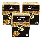 Fenugreek Seed Tea - Organic Herbs - 3 packs of 18 Sachets (54 Sachets) Bleach Free Tea Bags From Buddha Teas