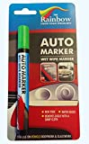 GREEN AUTO MARKER - REMOVABLE PAINT FOR BODY PANELS AND WINDSCREENS
