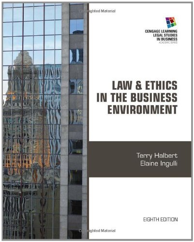 case study law and ethics Case studies and other experiential learning tools from harvard law school.