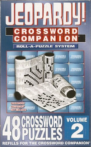 Cheap Herbko Jeopardy! Crossword Companion REFILL KIT – Volume 2 – 48 Crossword Puzzles (B002W5K0Q0)