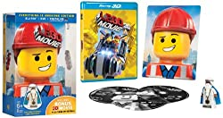 The LEGO Movie: Everything is Awesome Edition (Blu-ray + DVD + UltraViolet Digital HD + Vitruvius minifigure + Collectible 3D Emmet photo + Bonus 3D movie)