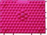 ケンオウ 足裏マット 2枚セットマッサージ効果 血行促進 美容 健康 (ピンク)