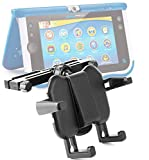 DURAGADGET Premium In-Car Tablet Headrest Mount with Adjustable Arms for the NEW Dell Venue 8 3000 Series Tablet