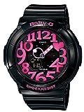 CASIO カシオ Baby-G ベビーG BGA-130-1B ブラック×ピンクネオンイルミネーターNeon Dial Series ネオンダイアルシリーズ レディース 腕時計 【逆輸入品】