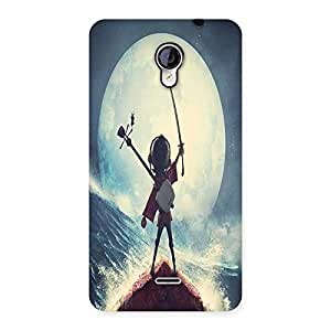 AJAYENTERPRISES Warrrior Win Boy Back Case Cover for Micromax Unite 2 A106