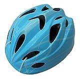 SAGISAKA(サギサカ) ヘルメット 自転車用ジュニアヘルメット スタンダードモデル Mサイズ 52~56cm ラインブルー 46406