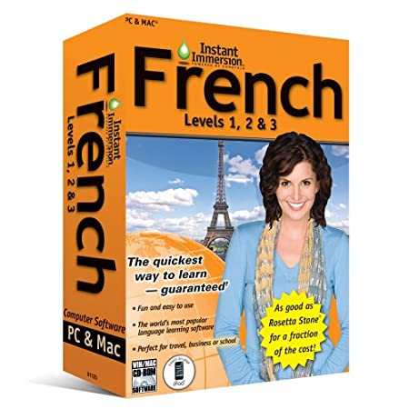 Instant Immersion: French, Levels 1,2 and 3