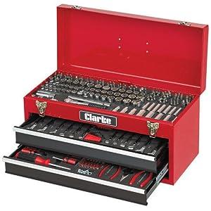 Clarke - Maletín de herramientas para mecánica (235 piezas