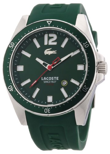 Lacoste Men's 2010663 Seattle Green Stainless Steel Watch