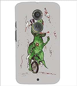PrintDhaba Funny Image D-5387 Back Case Cover for MOTOROLA MOTO X2 (Multi-Coloured)