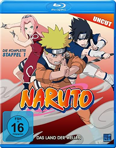 Naruto, Volume 1 - Blu-ray
