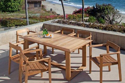 Horizon Teak Dining Table