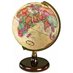 Quincy 9 Raised Relief Antique Desk Globe