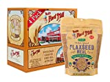 Bob's Red Mill (Resealable) Organic Brown Flaxseed Meal, 16-ounce (Pack of 4)