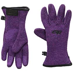 Outdoor Research Girls Flurry Gloves Orchid Large