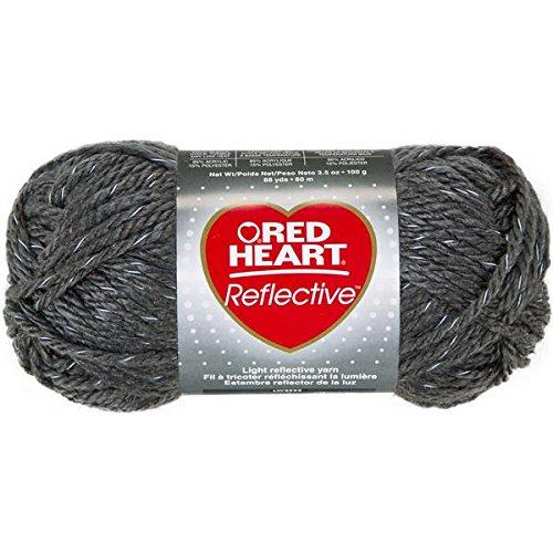 coats-yarn-red-heart-reflective-yarn-grey