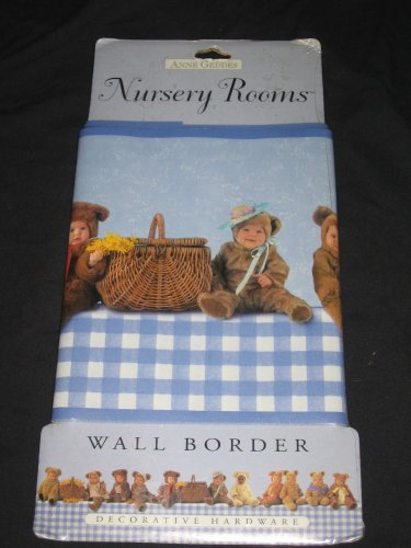 Anne Geddes Nursery Rooms Wall Border - Blue