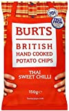 Burts Potato Chips Sweet Chilli 150 g (Pack of 10)