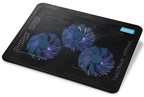 Learn More About AVANTEK 17'' Laptop Notebook Cooling Pad Chill Mat with Triple 110mm Blue LED Fans