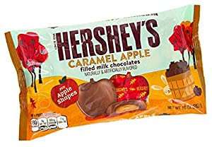 Hershey's Fall Harvest Caramel Filled Milk Chocolate, 10 oz (Pack of 2)
