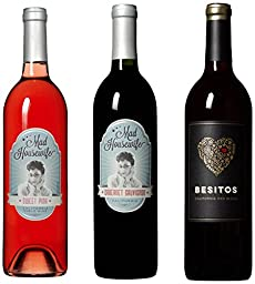 Hugs & Kisses Mixed Pack, 3 x 750 mL Wine