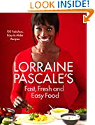 Lorraine Pascale's Fast, Fresh and Easy Food by Lorrain Pascal book cover