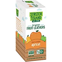 Stretch Island Original Fruit Leather, Apricot, 0.5-Ounce Strips (Pack of 30)