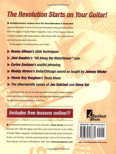 Guitarevolution: Lessons from the Groundbreakers & Innovators: Lessons from the Groundbreakers and Innovators