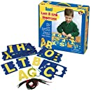 Lauri Toys Lace and Link Letters (Uppercase)