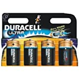 8 X Duracell ULTRA D LR20 Battery ALKALINE Batteries SEALED BRAND NEW