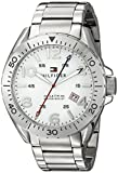 Tommy Hilfiger Men's 1791134 Casual Sport Analog Display Quartz Silver Watch