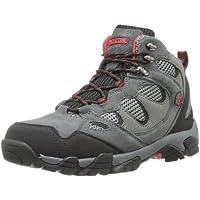 Pacific Trail Men's Sequoia Walking Shoe (Grey/Black/Red)