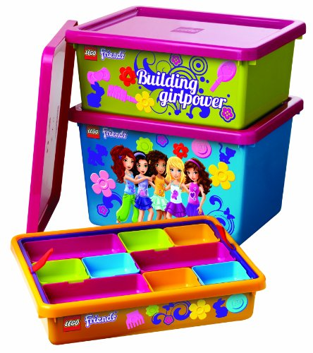 Lego Friends Sorting System For Storage, Lime Green