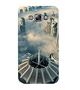Mental Mind 3D Printed Plastic Back Cover For Samsung Galaxy E7- 3DSAME7-G1380