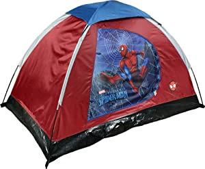 Spiderman Youth 2 Pole Dome Tent with Zip