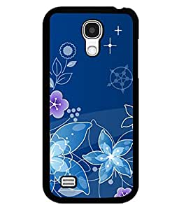 printtech Flower Spiral Design Back Case Cover for Samsung Galaxy S4 Mini::Samsung Galaxy S4 Mini i9190